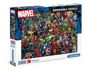 Clementoni Marvel Impossible 1000pc Puzzle