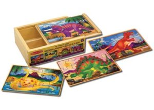 M&D Dinosaurs Puzzles In A Box