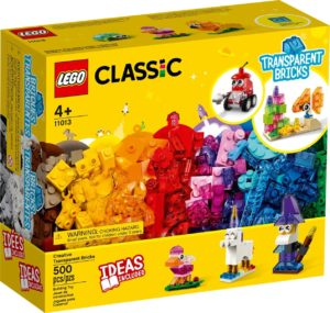 LEGO Classics 11013 Creative Transparent Bricks