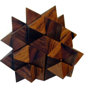Star Burst Wooden Puzzle