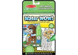 M&D On the Go Water WOW! Pet Mazes