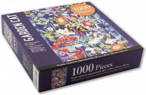 Peter Pauper Press Garden Cat Puzzle 1000pcs
