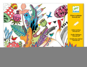 Djeco DJ9645 Colour in Frieze Butterfly Ball