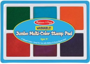 M&D Jumbo Stamp Pad 6 Colours