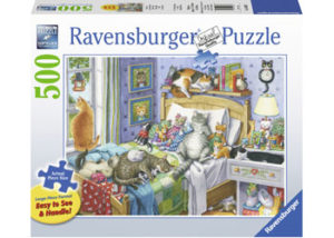 Ravensburger Cat Nap XL Format 500pc Puzzle