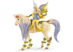 Schleich 70565 Bayala Fairy Sera with Blossom Unicorn