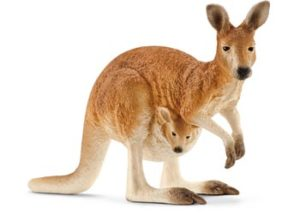 Schleich 14756 Kangaroo and Joey