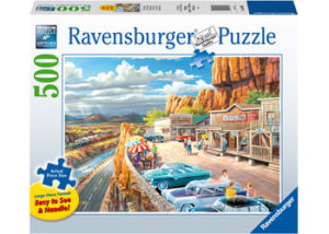 Ravensburger Scenic Overlook Puzzle 500pcs Large Format