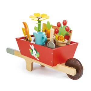 Garden Wheelbarrow Set Tender Leaf Toys