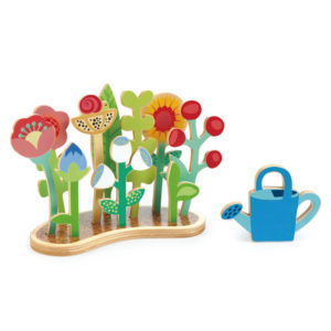 Tender Leaf Flower Bed With Watering Can