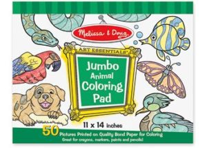 M&D Jumbo Colouring Pad Animals