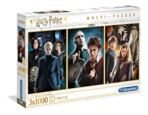Clementoni Harry Potter Multi 3x 1000pc Puzzles