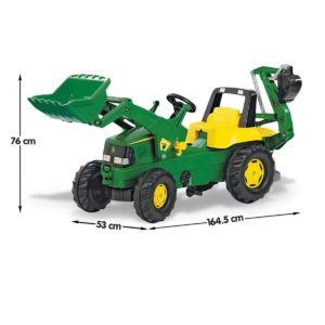 Rolly Junior John Deere Tractor With Loader
