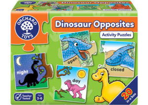 Orchard Toys Dinosaur Opposites Activity Puzzles