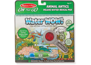 M&D On the Go Water WOW! Animal Antics Deluxe