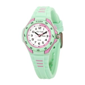 Cactus Time Teaching Mint/Pink Watch