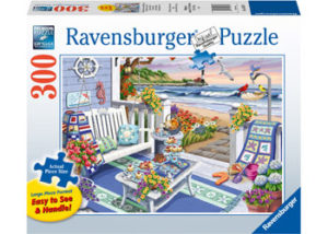 Ravensburger Seaside Sunshine Puzzle Large Format 300pc