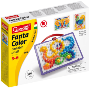 Quercetti 0920 Fanta Color Portable Small 160pc