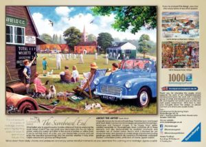 Ravensburger The Scoreboard End Number 4 Puzzle 1000pc