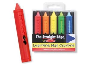 M&D Learning Mat Crayons