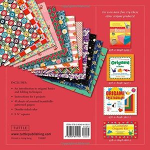 Origami Paper Traditional Japanese Designs 49pc