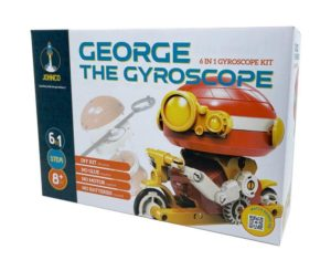 George the 6 in 1 Gyroscope Kit