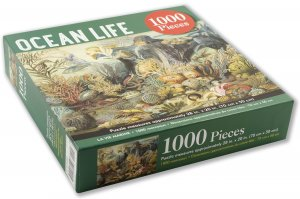 Peter Pauper Press Ocean Life Puzzle 1000pcs