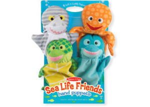 M&D Sea Life Friends Hand Puppets