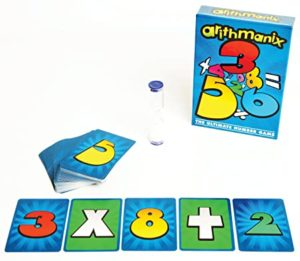 Arithmanix: The Game of Rapid Calculations