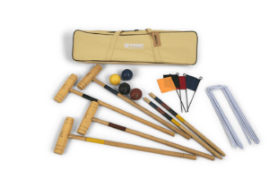 Planet Finska Premium Croquet 4 Mallet in Beige Bag