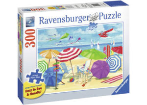 Ravensburger At The Beach XL Format 300pc Puzzle