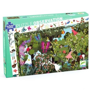 Djeco DJ7512 Garden Play Time Observation Puzzle 100pc