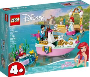 LEGO Disney 43191 Ariel Celebration Boat
