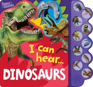 Discovery I Can Hear Dinosaurs 10 Button Super Sounds