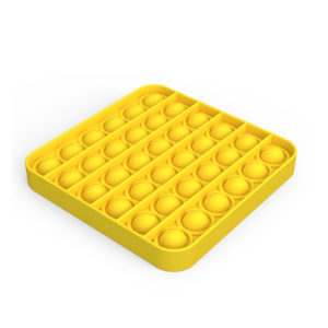 Sensory Square Shape Pop It Fidget Toy