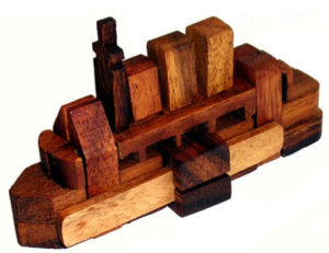 Ship Puzzle Medium 16pc