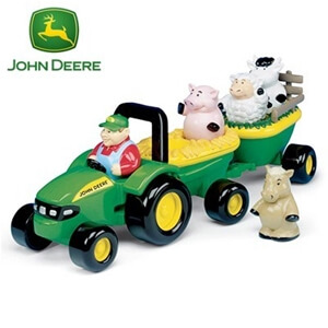 John Deere Animal Sounds Hay Ride