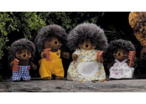 SF 4018 Hedgehog Family Set