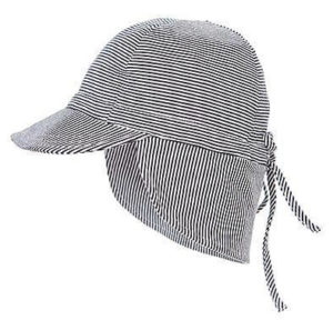 Toshi Flap Cap Baby Periwinkle XS