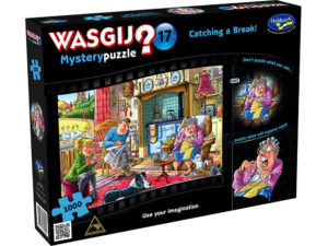 Wasgij? Mystery 17 Catching A Break 1000pc Puzzle