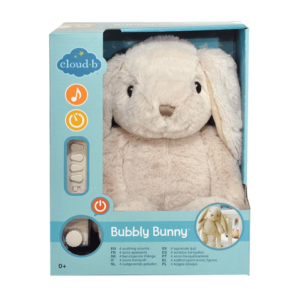Cloud B Bubbly Bunny with 8 Soothing Sounds