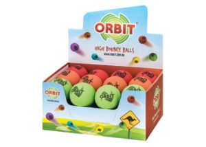 Orbit Excite High Bounce Balls Assorted