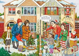Ravensburger What If No 20? Christmas Lights Puzzle 1000pc