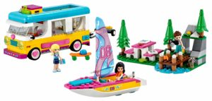 LEGO Friends 41681 Forest Camper Van and Sailboat