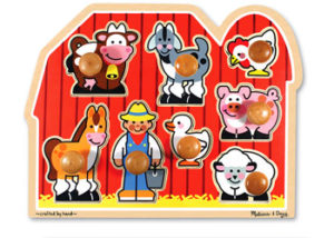 M&D Large Farm Jumbo Knob Puzzle