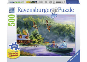 Ravensburger Weekend Escape XL Format 500pc Puzzle