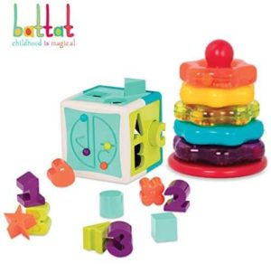 Battat Shape Sorter Cube 13pcs