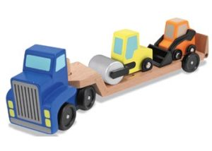 M&D Wooden Low Loader