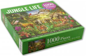 Peter Pauper Press Jungle Life Puzzle 1000pcs