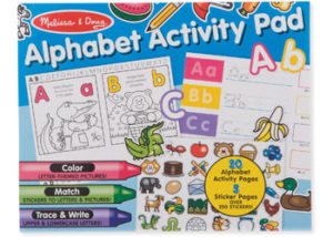 M&D Alphabet Activity Pad